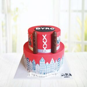 Droomtaart Amsterdam taart