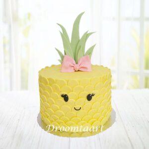 Droomtaart Ananas taart