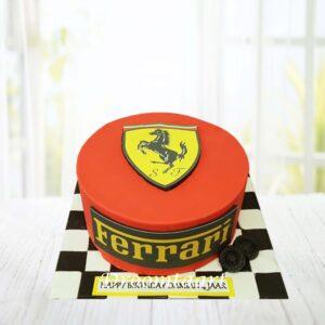 Droomtaart Auto taart Ferrari