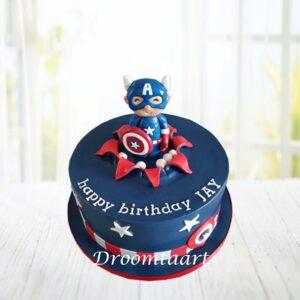 Droomtaart Avengers Captain America taart