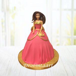 Droomtaart Barbie taart 2
