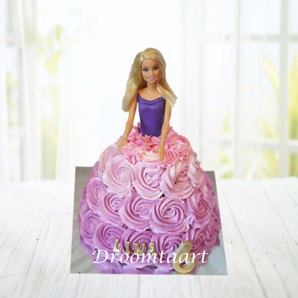 Barbie taart 3