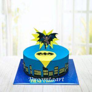 Droomtaart Batman taart 1