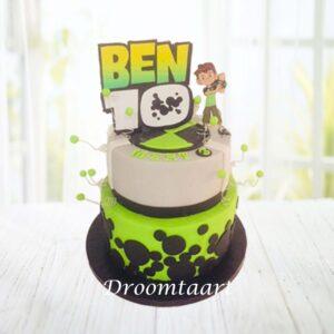 Droomtaart Ben 10 taart