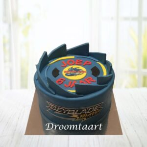 Droomtaart Beyblade taart 1