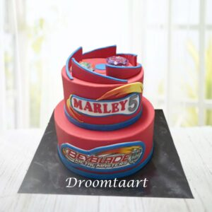 Droomtaart Beyblade taart 2