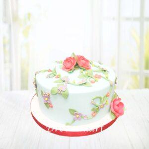 Droomtaart Bloemen taart
