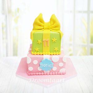 Droomtaart Cadeau taart 1