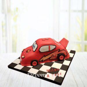 Droomtaart Cars taart 3D