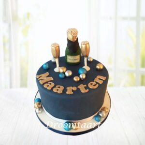 Droomtaart Champagne taart 3