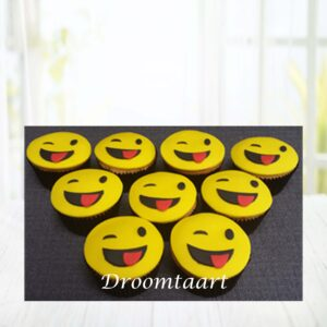 Droomtaart Cupcakes Emoticons