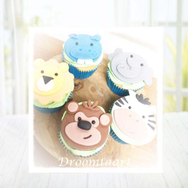 Droomtaart Cupcakes Jungle