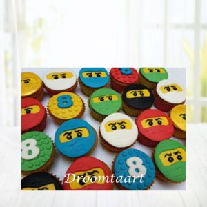 Droomtaart Cupcakes Lego NinjaGo