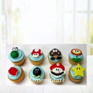 Droomtaart Cupcakes Super Mario 2