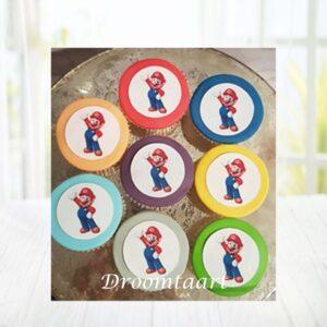 Droomtaart Cupcakes Super Mario