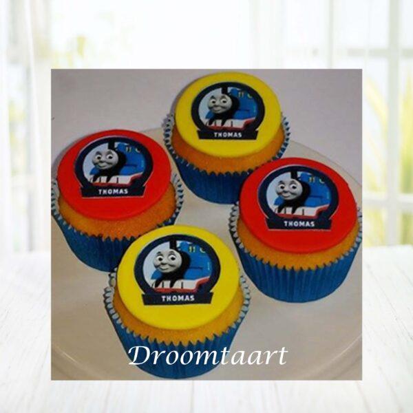 Droomtaart Cupcakes Thomas de Trein