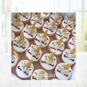 Droomtaart Cupcakes Unicorn