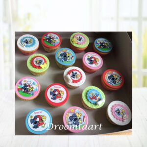 Droomtaart Cupcakes Woezel en Pip