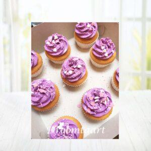 Droomtaart Cupcakes toef met sprinkels
