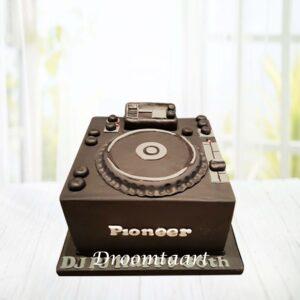 Droomtaart DJ taart