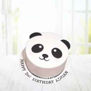 Droomtaart Dieren taart Panda 2
