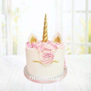 Droomtaart Dieren taart Unicorn 1