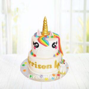 Droomtaart Dieren taart Unicorn 11