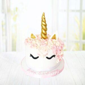 Droomtaart Dieren taart Unicorn 3