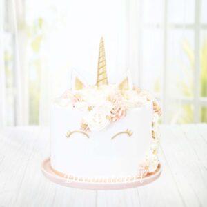 Droomtaart Dieren taart Unicorn 4