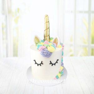 Droomtaart Dieren taart Unicorn 6