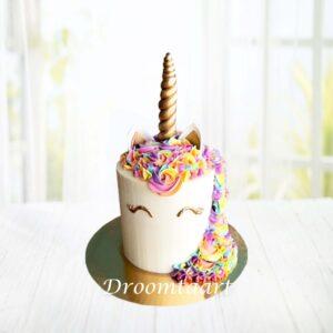 Droomtaart Dieren taart Unicorn 8