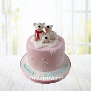 Droomtaart Dieren taart ijsbeer