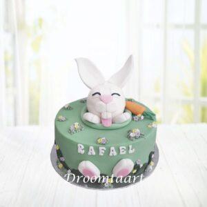 Droomtaart Dieren taart konijn 1