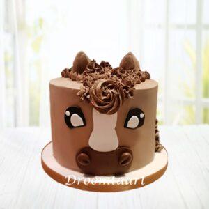 Droomtaart Dieren taart paard 3