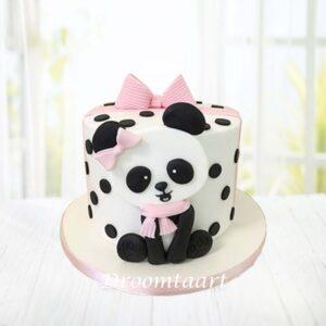 Droomtaart Dieren taart panda 1