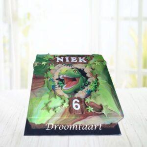 Droomtaart Dino taart 2