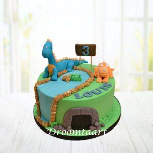 Droomtaart Dino taart 5