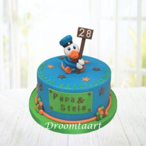 Droomtaart Donald Duck taart 1