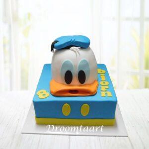 Droomtaart Donald Duck taart 2