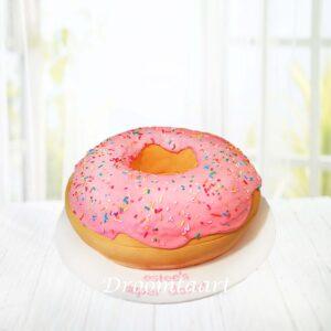 Droomtaart Donut 3D taart