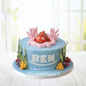 Droomtaart Finding Nemo taart 1