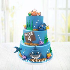 Droomtaart Finding Nemo taart 3