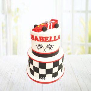 Droomtaart Formule 1 taart 3
