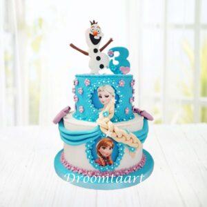 Droomtaart Frozen taart 11
