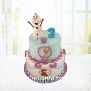 Droomtaart Frozen taart 14