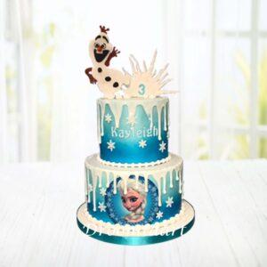 Droomtaart Frozen taart 8