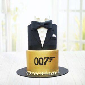 Droomtaart James Bond taart 2