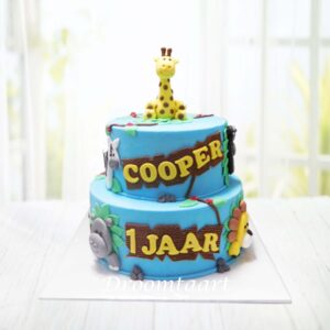 Droomtaart Jungle taart 3