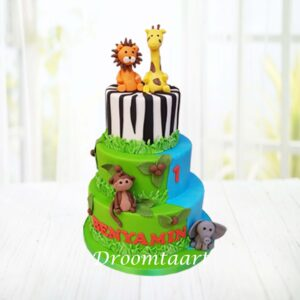 Droomtaart Jungle taart 5