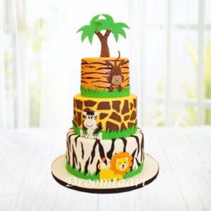 Droomtaart Jungle taart 7